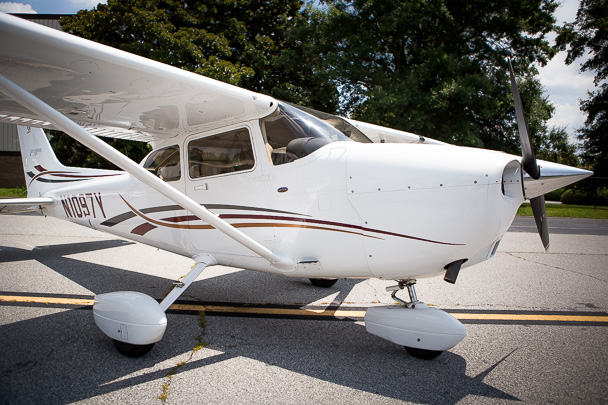 N1097Y Cessna 172SP G1000 Air Conditioned Skyhawk For Rent